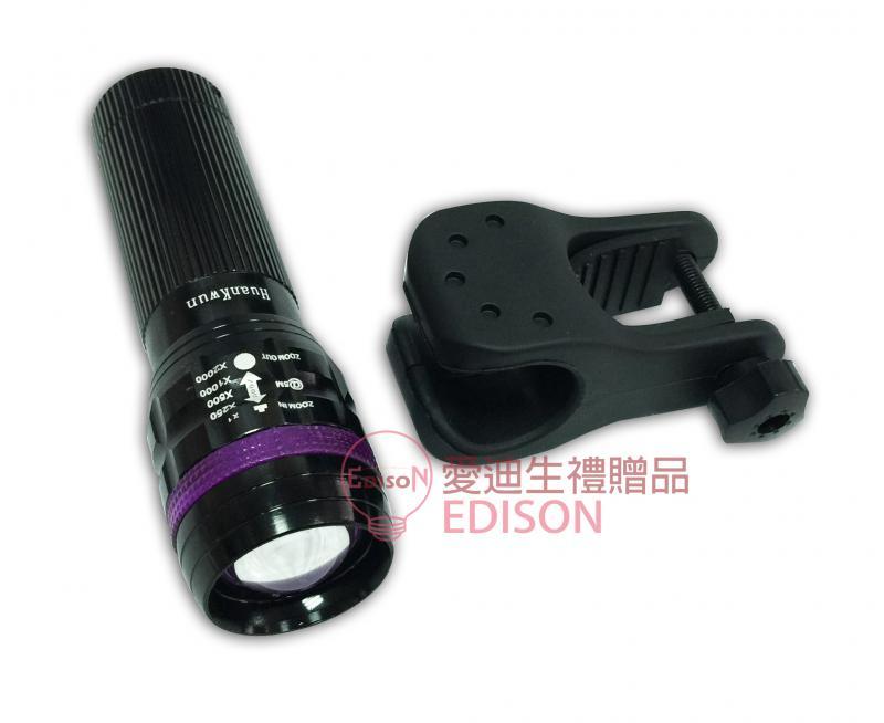 10W-LED手電筒+車夾 (HK-2192)
